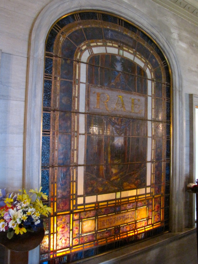 Rae Room, Oregon Tomb, Portland Memorial, Oregon, Mausoleum, History